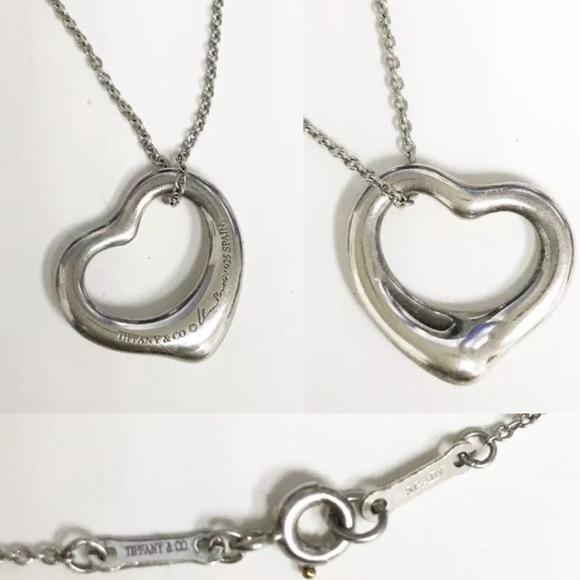 4e3207ee9 Tiffany & Co. Jewelry   Tiffanyco Peretti Open Heart Pendant ...